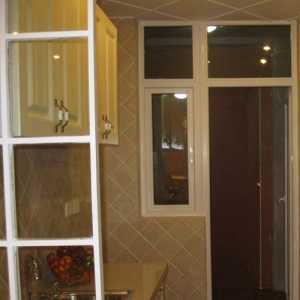 歐式風格家庭進門玄關裝飾效果圖