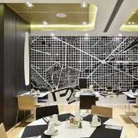 90平米餐桌灯具餐厅装修效果图
