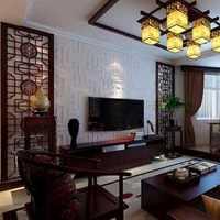 客厅欧式别墅白色立柱楼梯装修效果图