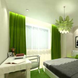 簡約風格二居室大氣米色豪華型臥室床效果圖