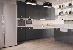 40个精美大气的黑白色厨房设计