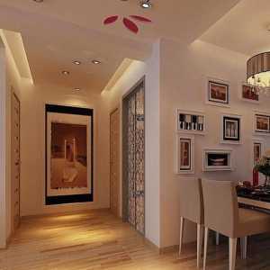 上海76平米两室简装样板图