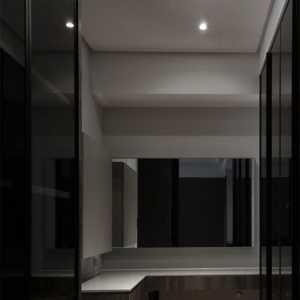 台湾黑色时尚的现代简约风公寓装修设计