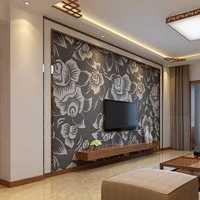 新中式五居室餐厅吊顶效果图