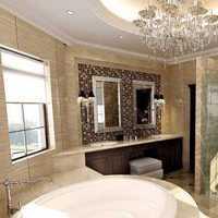简约恒洁浴室柜展示装修效果图