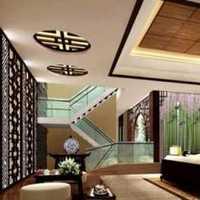 时尚客厅米色灯具装修效果图