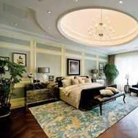 清新贴饰沙发背景墙装修效果图