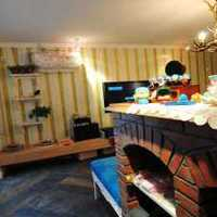 美式乡村风格复式140平米以上客厅沙发效果图