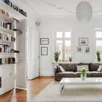 65平米小户型装修书房片效果图
