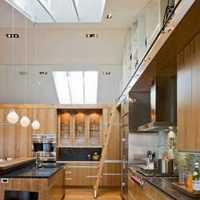简欧式厨房灯具装修效果图