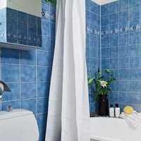 时尚美式卧室卫生间装修效果图