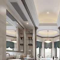现代简约风格客厅酒店公寓稳重收纳柜效果图