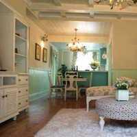 美式二居家居摆件客厅装修效果图