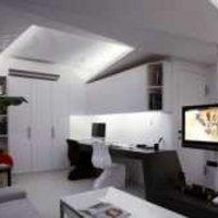 现代三居客厅吊顶茶几装修效果图