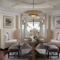 现代创意两室两厅卧室效果图
