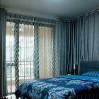 卧室背景墙三居室地台装修效果图