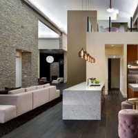 新中式卧室用墙布装饰效果图