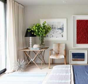 田園風格三居室溫馨100平米效果圖
