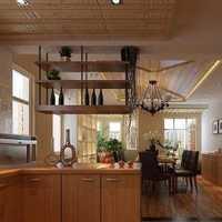 蓝色中式家居餐厅装修效果图