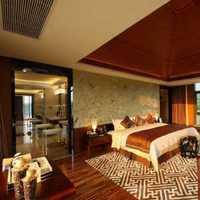 卧室家具实木卧室简约装修效果图