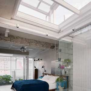 卧室现代简约公寓多彩120-150平米