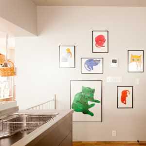 现代风格一居室公寓室内效果图