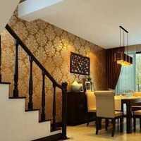 中式风格玄关木地板效果图