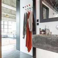 客厅卫生间干湿分离装修效果图
