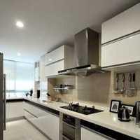 现代现代家具厨房整体橱柜装修效果图