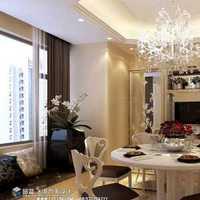 壁纸灯具二居室80平米装修效果图