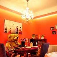 客厅墙壁现代装饰画效果图
