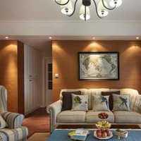 宽敞古朴的客厅布置效果图