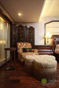 家装中式风卧室图