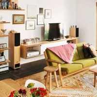 电视背景墙欧式古典复式楼装修效果图
