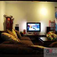 新古典吊燈二居客廳新古典裝修效果圖