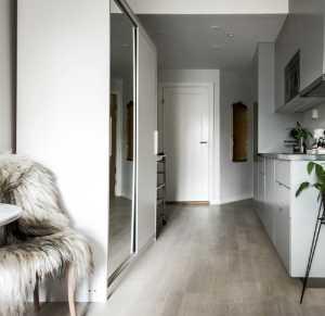 一室户小户型的家 北欧风突显干净整齐