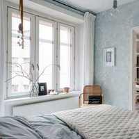 灯具暖色调卧室简约装修效果图