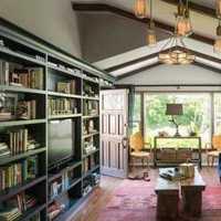 豪华家居书房装修效果图