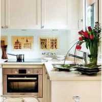 温馨现代简约厨房复式装修效果图