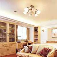 卧室白色地面现代别墅装修效果图