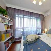 现代简约风三室两厅装修效果图
