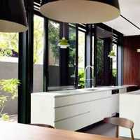 小型美式敞开式厨房装修效果图