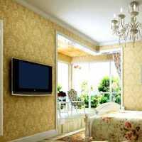 地中海与田园风混搭二居室卧室背景墙效果图