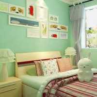 新古典風格條紋臥室窗簾效果圖