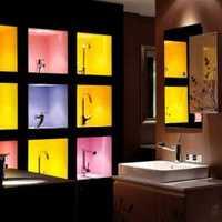 家装电视背景墙两边镜子用什么颜色好看