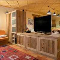 100平米三室2厅一厨2卫装修效果图简装的就好