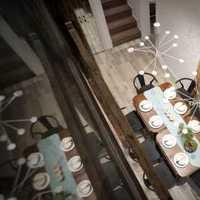 地中海餐厅别墅餐台家庭装修效果图