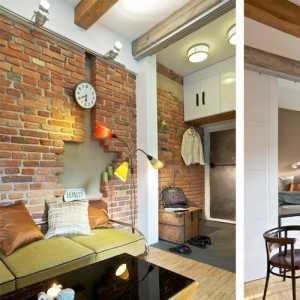 求60平米两室一厅装修效果图