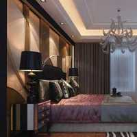 混搭風格公寓可愛富裕型臥室床效果圖