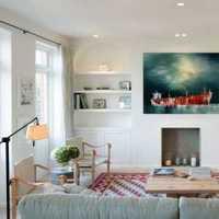 现代别墅时尚复古起居室装修效果图